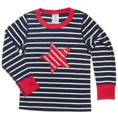 CIRCUS STRIPE APPLIQUE TOP (2-6 YRS)  new at @POLARN O. PYRET USA