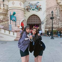 Image may contain: 2 people, people standing and outdoor Best Friend Pictures, Friend Pics, Friends, Dimples, School Uniform, Ulzzang Girl, Couple Goals, Besties, Cute Outfits
