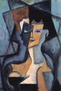 Head Of A Young Woman by Jean Metzinger Handmade oil painting reproduction on canvas for sale,We can offer Framed art,Wall Art,Gallery Wrap and Stretched Canvas,Choose from multiple sizes and frames at discount price. Cubism Art, Art Painting, Oil Painting On Canvas, Oil Painting, Klimt Paintings, Art, Canvas Painting, Oil Painting Reproductions, Art Transportation