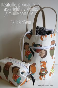 Koska pussukoita ei voi olla liikaa ;D Joyful, Diaper Bag, Crafts, Bags, Inspiration, Handbags, Biblical Inspiration, Manualidades, Diaper Bags