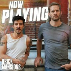 Paul Walker and David Belle team up in Now playing! Brick Mansions 2014, Forest Lawn Memorial Park, Paul Walker Photos, Cody Walker, Andrew Luck, Martial Artist, Fast And Furious, Robert Pattinson, Best Memories