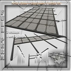 Mesh Urban Roof Ceiling Build 4 Mega Set Full perm