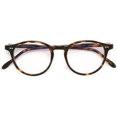 Dark tortoise brown acetate round frame glasses from pantos paris. These glasses can be adapted to fit all types of prescription lenses. This item comes with…