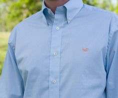 Southern Marsh Collection — The Gadwall Gingham from Southern Marsh - Wrinkle-Free