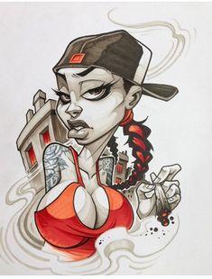 Graffiti Character ByWard