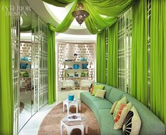 I imagine a reception area like this for my friend, Amy, of Inspire Portraits & Design...