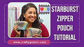 DIY Triangle Zipper Pouch Tutorial - YouTube