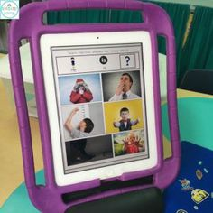 Target early developing grammatical structures on your iPad with this no-print product from Speechy Musings.