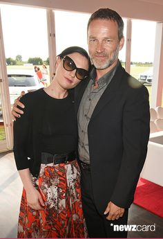 Anna Paquin and Stephen Moyer attended the Audi Polo Challenge 2015 at Cambridge County Polo Club on July 3, 2015 in Cambridge, England