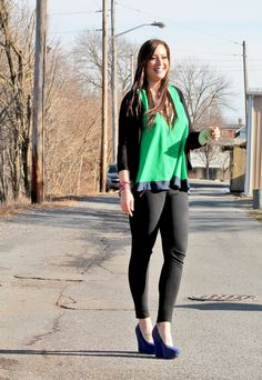 Jersey Girl, Texan Heart: Green ootd for St Patrick's day