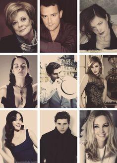 Downton Abbey / cast almost unrecognizable