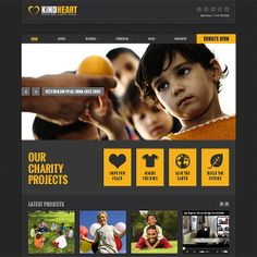 Charity Twitter Bootstrap Template