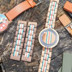 Last #sneakpeek for a little while but have to #share our latest round of #prototypes again, so things will change but gives you a pretty good idea. We're developing a 100% unique line of watches made from recycled skateboards. So excited :) stay tuned!! . . . . #follow #skrap #recycledskateboards #recyled #reclaimedwood #skateboard #snowboarding #watches #watch #woodenwatch #unique #beauty