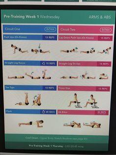 Pre training week 1 wednesday