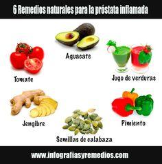 Remedios naturales que pueden ayudarnos a prevenir y aliviar la próstata agrandada o inflamada. Información sobre la enfermedad, síntomas y causas.