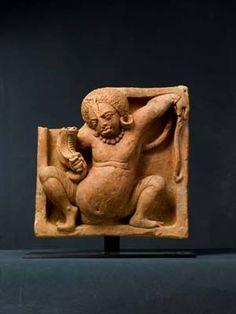 Schlangenbändiger im Pantheon des Hinduismus: der Gott Nagaraja