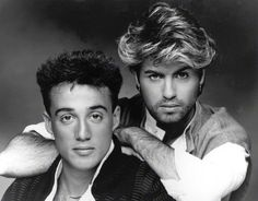 Wham! Can we just take a moment to look at how gorgeous George Michael is...