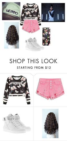 """Day Out with Sean Lew"" by yoitsdd on Polyvore featuring Moschino and Sonix"