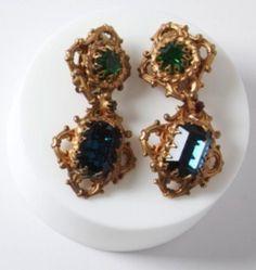 Marie Ferra Drop Earrings of Lavande Graves Jewelry Art, Antique Jewelry, Vintage Jewelry, Jewelry Design, Vintage Love, Vintage Beauty, Vintage Fashion, Online Boutique Stores, Elements Of Style
