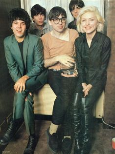 Blondie is an American rock band founded by singer Deborah Harry and guitarist Chris Stein. The band was a pioneer in the early American new wave and punk scenes of the mid-1970s.