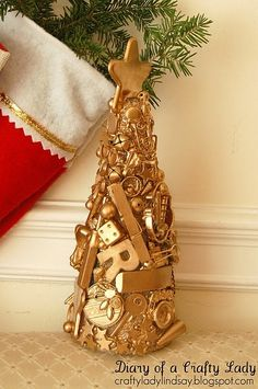 I SPY Christmas tree - cute idea