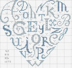 cuore - lettere con colori jpg; heart of the alphabet
