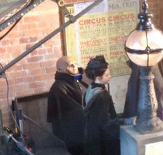 """Doctor Who   Behind the scenes of """"Deep Breath""""   Splott, Cardiff 7/1/2014"""