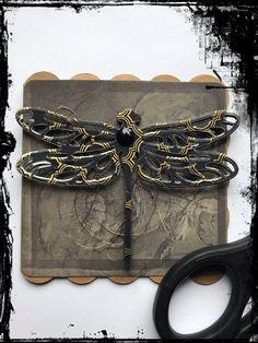 #Grußkarte #Steampunk #Gothic #Vintage #Libelle #Gold #Kupfer #VivelaVigo Dionysus, Steampunk, Gothic, Gucci, Shoulder Bag, Wallet, Chain, Gold, Bags