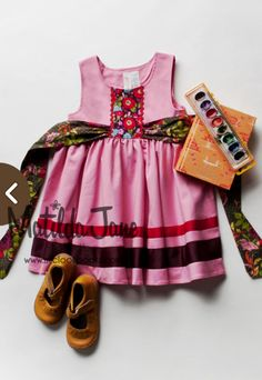 Calypso Dress (RV $58-60) 18M-12 ~ Paint by Numbers Fall 201 (15) size 6