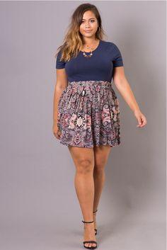 Skirt mini outfit winter plus size Ideas - Skirt,, - Mini Skirt Outfit Plus Size Mini Skirts, Dress Plus Size, Plus Size Outfits, Office Fashion Women, Curvy Women Fashion, Plus Size Fashion, Womens Fashion, Fat Fashion, Skirt Fashion