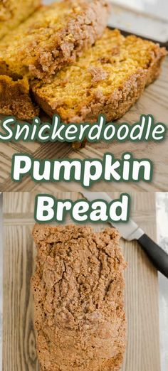 Soft, tender pumpkin bread has a ribbon of cinnamon running throughout and then coated in a crumbly cinnamon topping. This pumpkin bread recipe is a family favorite! It never disappoints! You are going to love the aroma that fills your house while it is baking! Healthy Pumpkin Bread, Pumpkin Pie Recipes, Bread Recipes, Easy Pumpkin Seeds, Pumpkin Soup, Pumpkin Mac And Cheese, Pumpkin Cream Cheeses, Pumpkin Snickerdoodles, Fruit Bread
