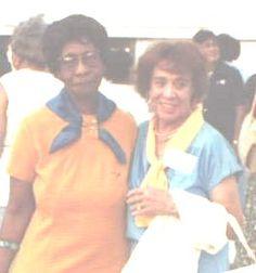 Sigma Gamma Rho Founders - Hattie Mae Annette Dulin Redford and Mary Lou Allison Gardener Little