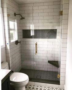 Most recent Snap Shots Bathroom Shower niche Tips . Most recent Snap Shots Bathroom Shower niche T Bathroom Remodel Shower, House Bathroom, Bathroom Interior Design, Niche Design, Shower Niche, Modern Bathroom, Bathroom Renovations, Bathrooms Remodel, Bathroom Redo