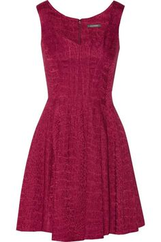 Love the Zac Posen Jacquard dress on Wantering.