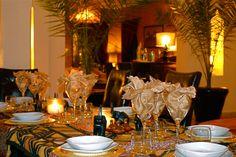 Restauration de prestige AL Mendili spa & resort Marrakech