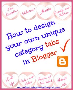 Blog Design Tips for Blogger - The SITS Girls