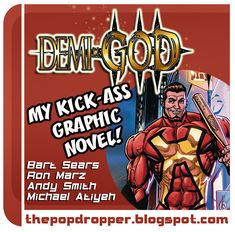 Demi-God is a Bart Sears project on kickstarter