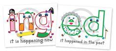 ing ed anchor charts First Grade Phonics, 2nd Grade Ela, First Grade Writing, Second Grade, Phonics Words, Spelling Words, Grade Spelling, Teaching Grammar, Teaching Writing