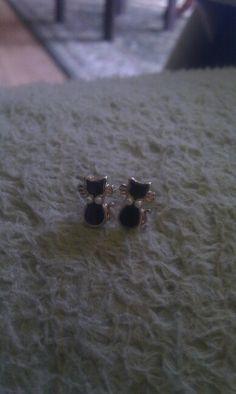 Earrings meow