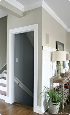 Adding thick Craftsman door trim to my doorways! #DIY