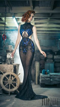 Charbel Zoe Fall-winter 2014-2015 - Couture - http://www.flip-zone.net/fashion/couture-1/independant-designers/charbel-zoe-4849