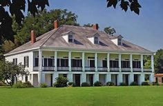 """""""St. Joseph Plantation is one of the few fully intact sugar cane plantations in the River Parishes."""" The Plantation is located in Vacherie, LA."""