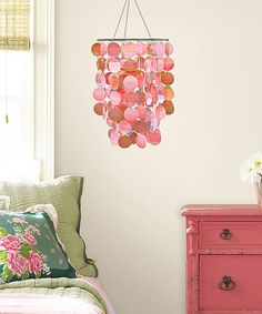 Loving this Pink Chandelier on #zulily! #zulilyfinds