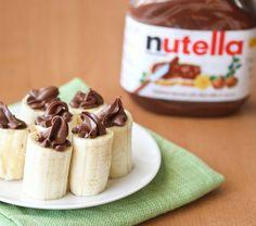 Nutella Stuffed Bananas | Kirbie's Cravings | A San Diego food blog