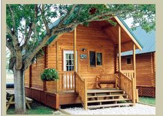 'Outdoorsman' Amazing 424 Sqft Log Cabin Costing only $26k has a Stunning MUST See Interior!
