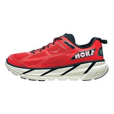 Take the feeling of running on grass to the concrete jungle with the new Mens Hoka One One Clifton running shoe