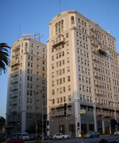 The Wilshire Royale Hotel, built in 1927 in the Westlake district.