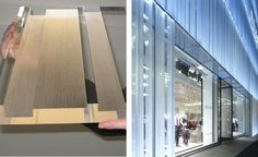 Reiss Facade by Fluid Structures