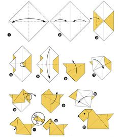 Origami Guide, Origami Easy, Origami Instructions, Cute Cards, Cardmaking, Paper Crafts, Kids Rugs, Valentines, Quilts