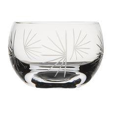 Mimoto - Kiriko Glass clear glass tumbler with pine needle pattern - Pine Needle design Junko Yoshida Wonderful Things, Punch Bowls, Japan, Japanese Dishes, Japanese